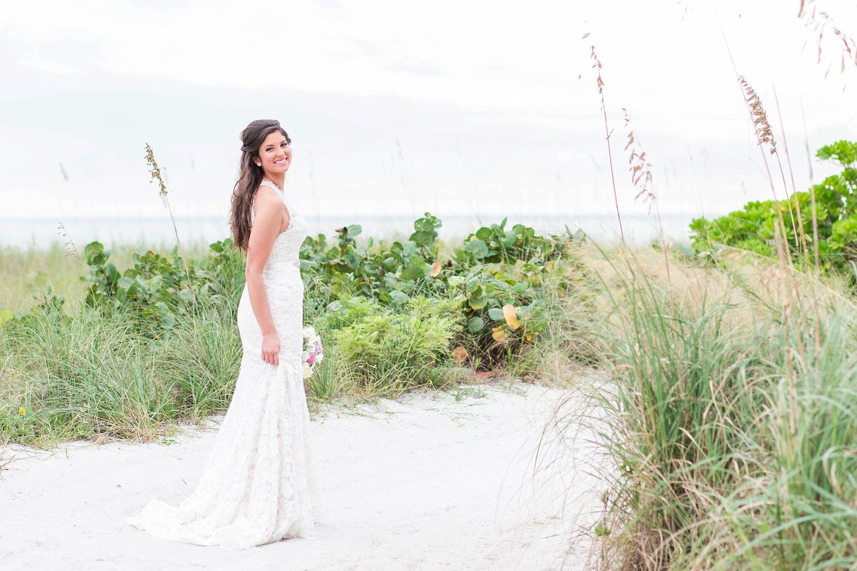 sarasota beach wedding photography bridal portrait