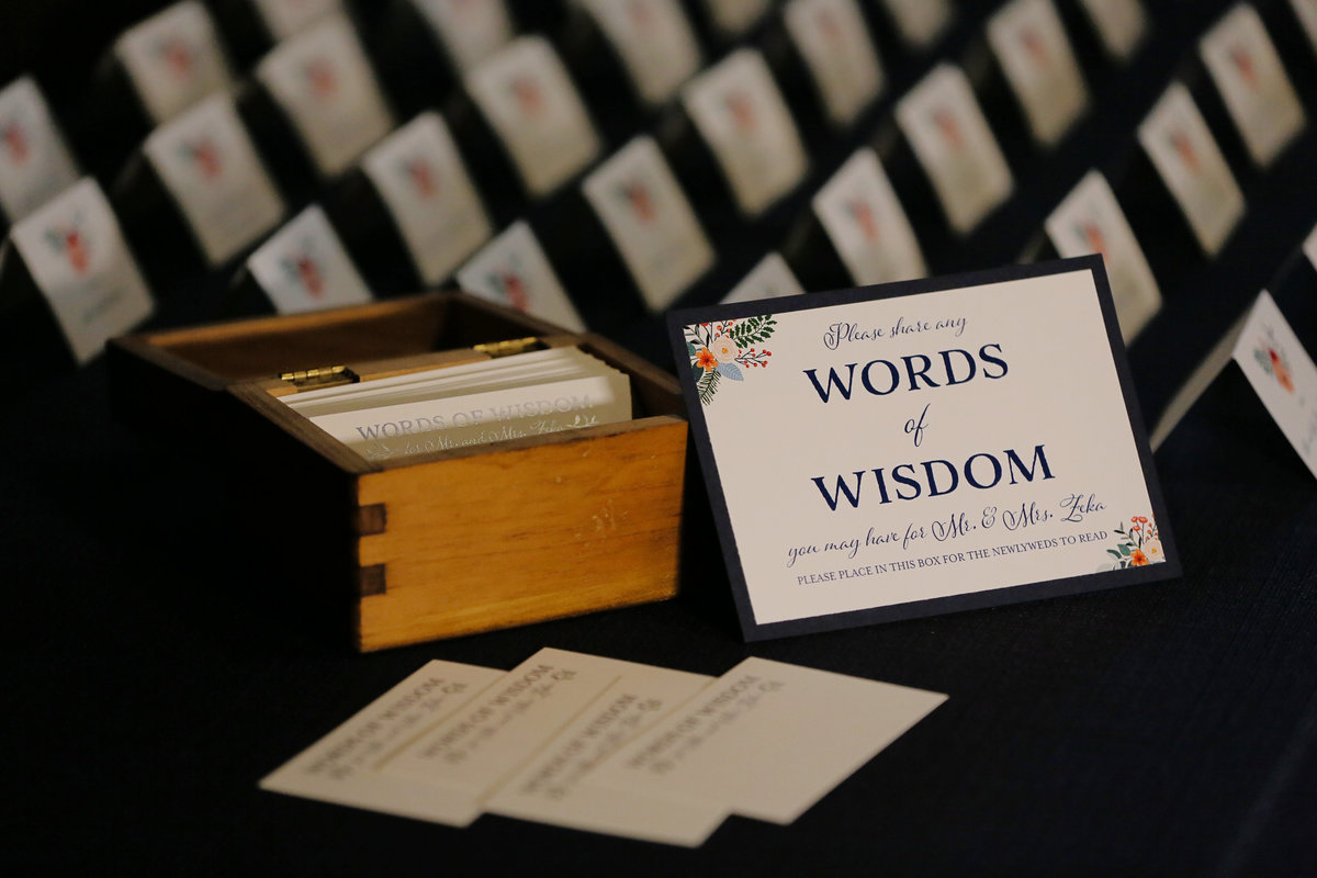 Samantha & Jeton - Words of Wisdom Cards