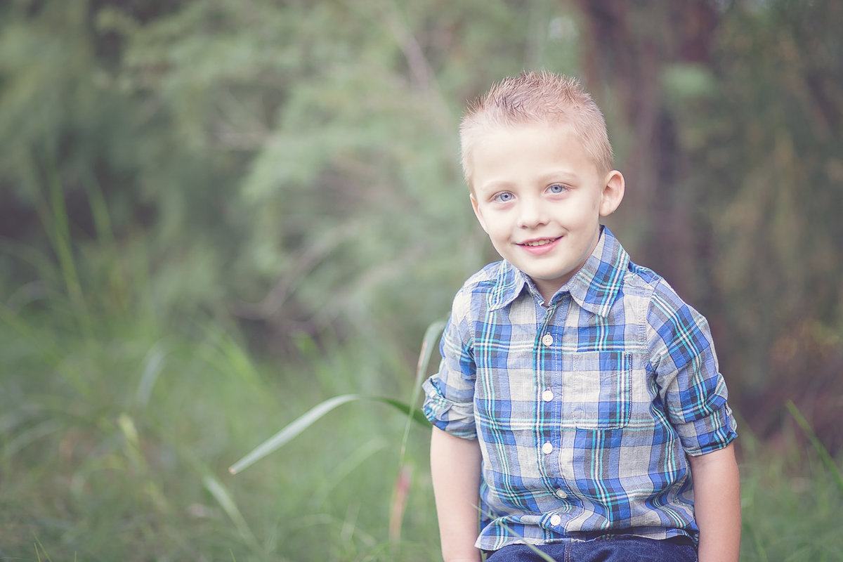 Five year old child photography by Plume Designs & Photography in Scottsdale, Arizona