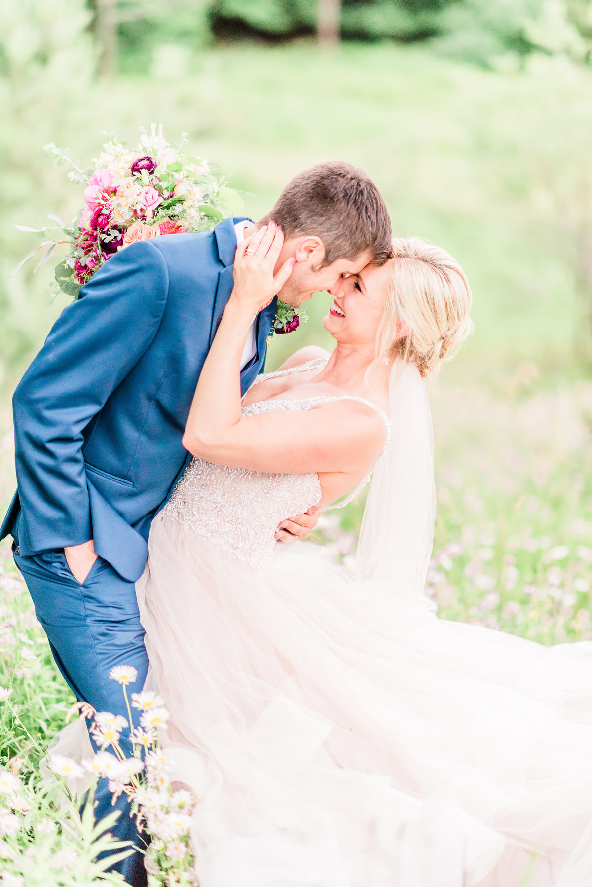 crystal lake golf club wedding photographer in northern michigan
