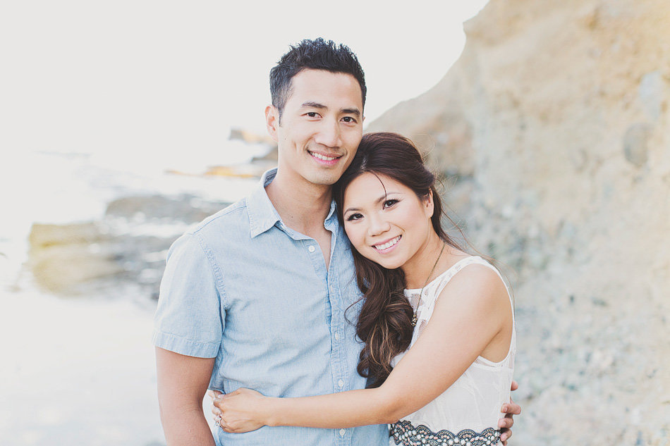 engagement portraits in Laguna Beach