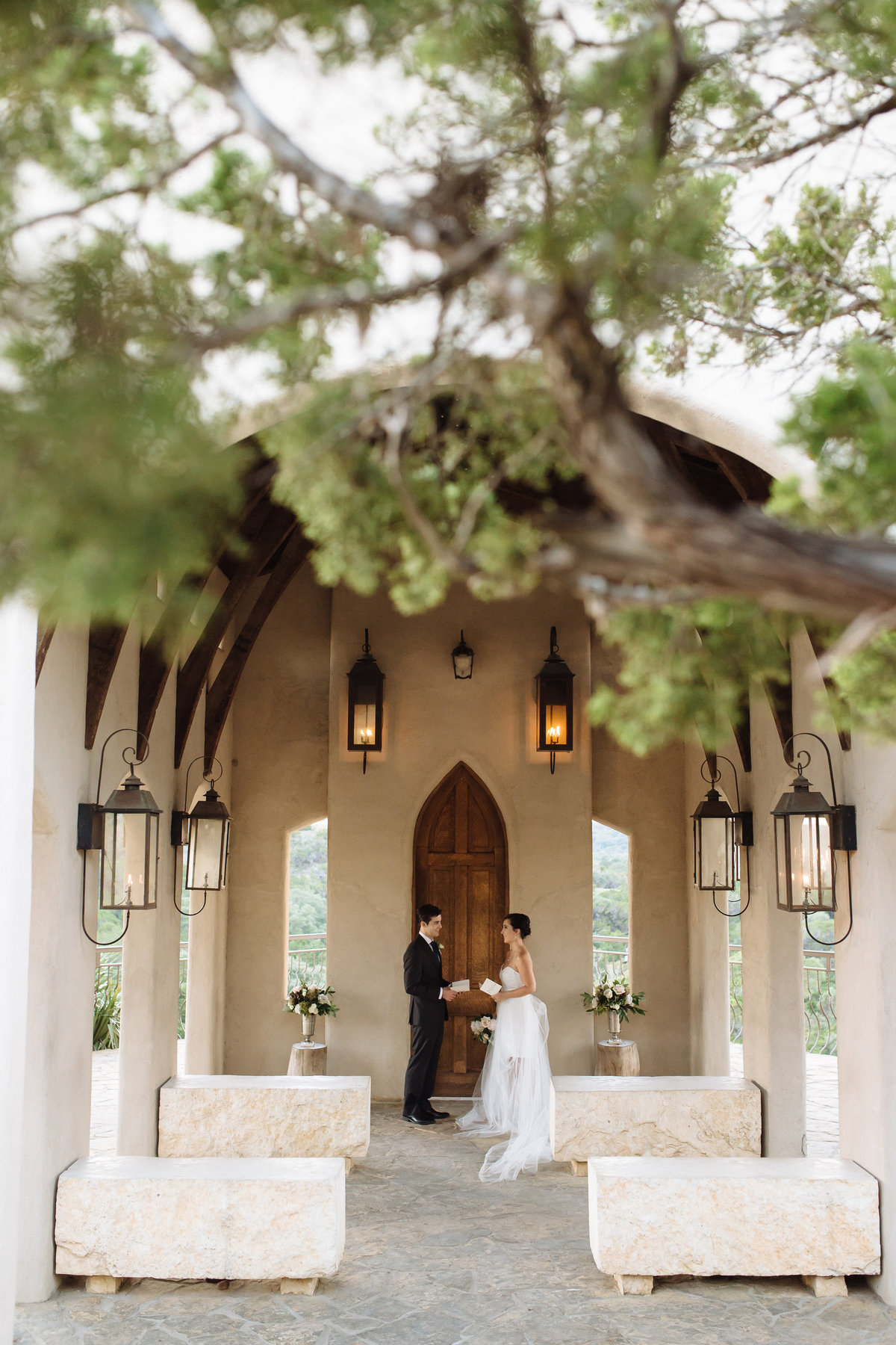 Chapel Dulcinea elopement by destination wedding photographer smith house photography