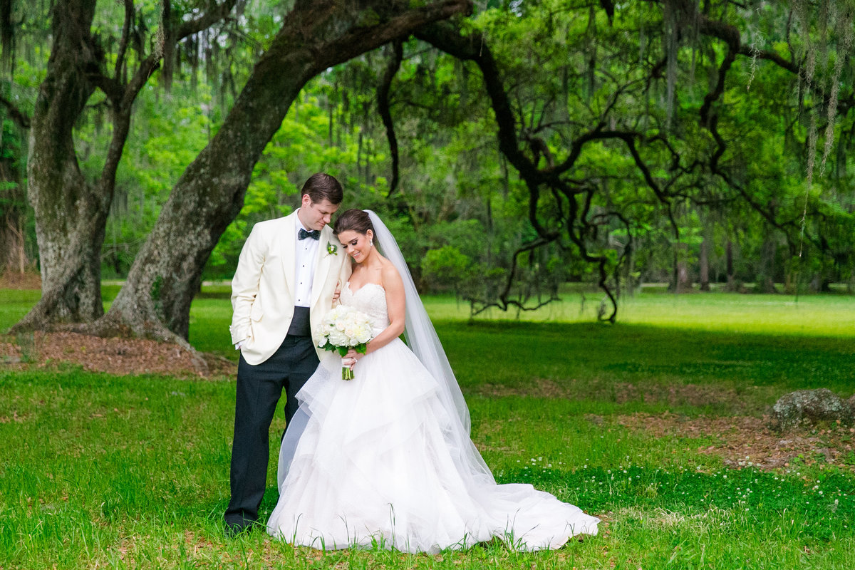Magnolia Plantation Veranda Wedding Photographer