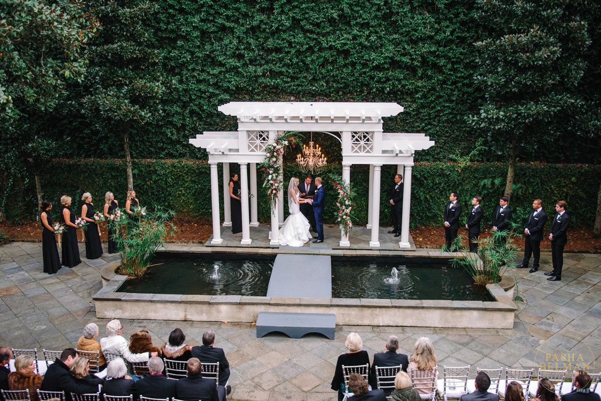 Kristen robert the william aiken house wedding for Aiken house