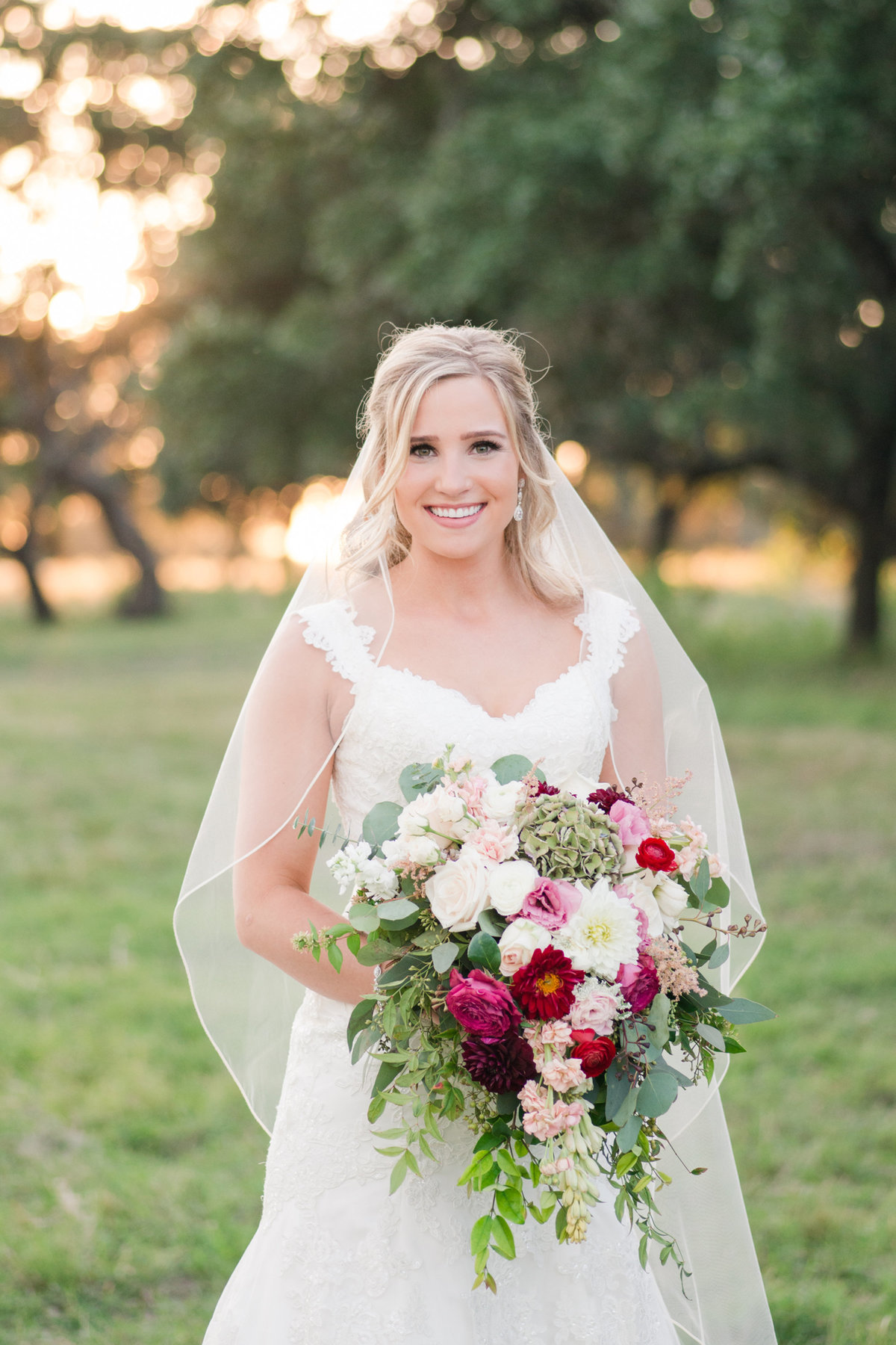 Boerne Wedding Photographer for CW Hill Country Ranch bridals