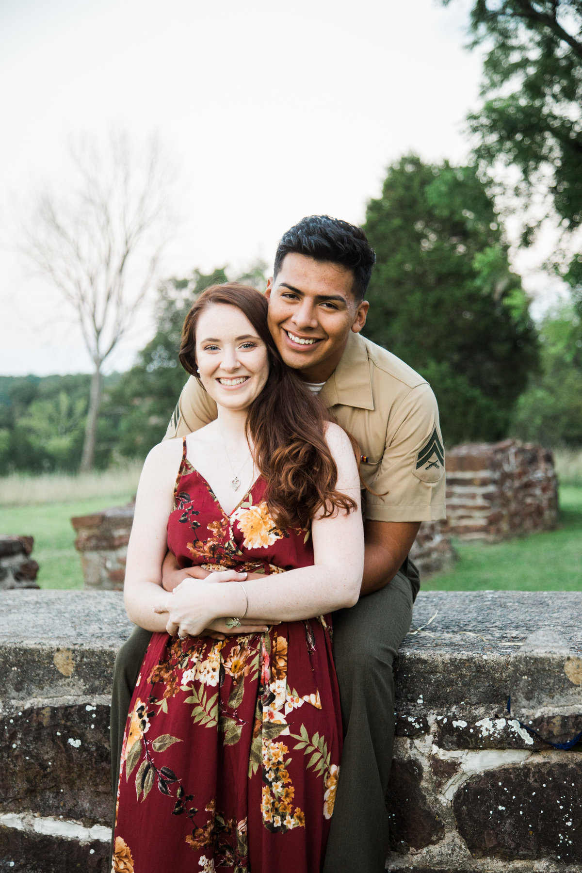 Erika + Jose Engagement - Virginia Wedding Photographer - Photography by Amy Nicole-395-23