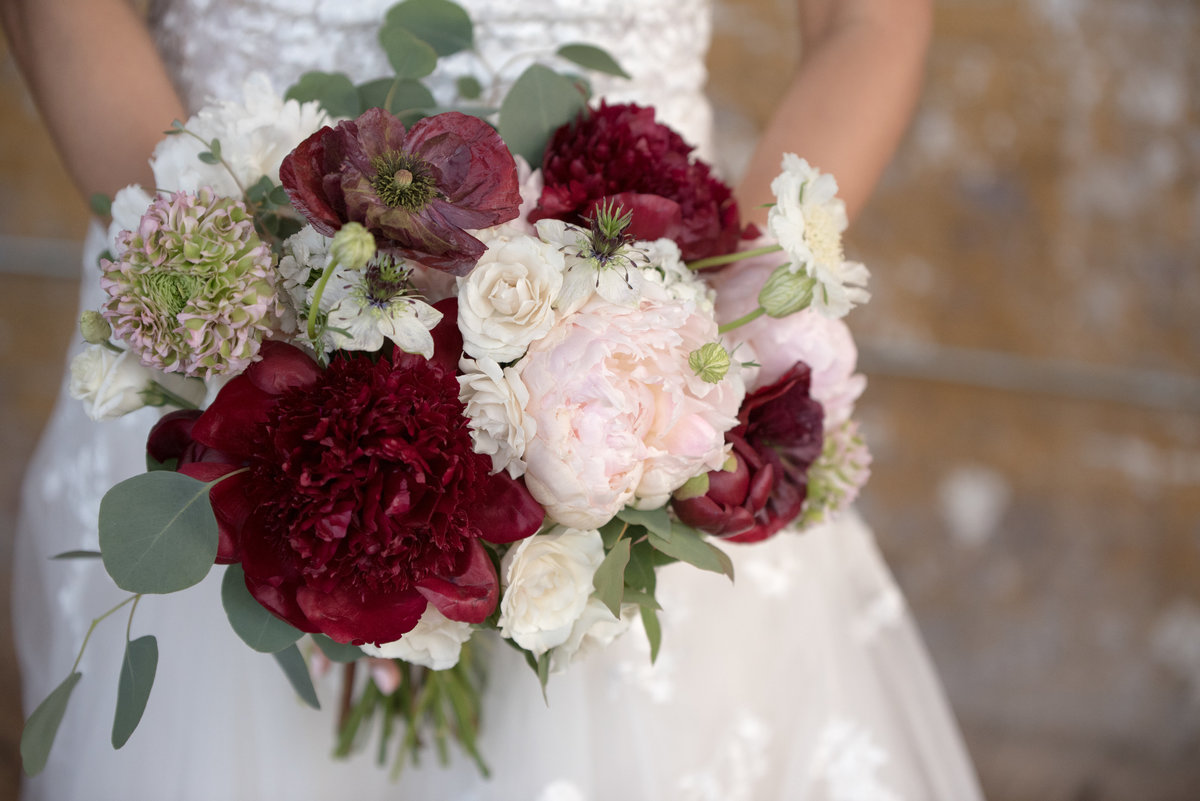 Rose Hip Floral Wedding Bouquets