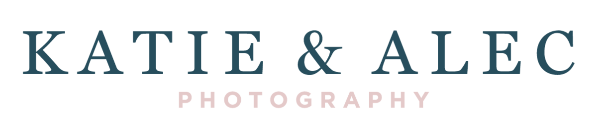 Logo  | Birmingham, Alabama based Wedding Photographers, Katie & Alec Photography a Husband-and Wife Team