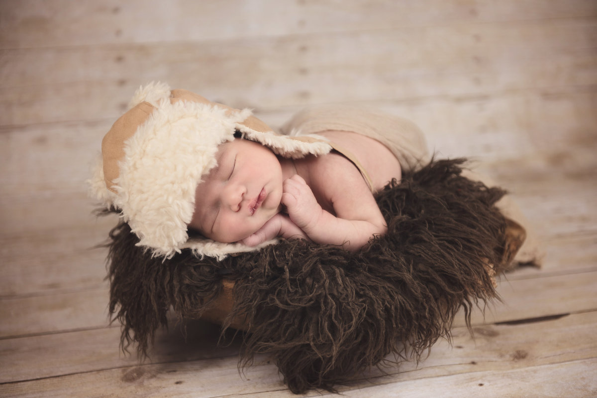 Newborn boy session in salinas, ca