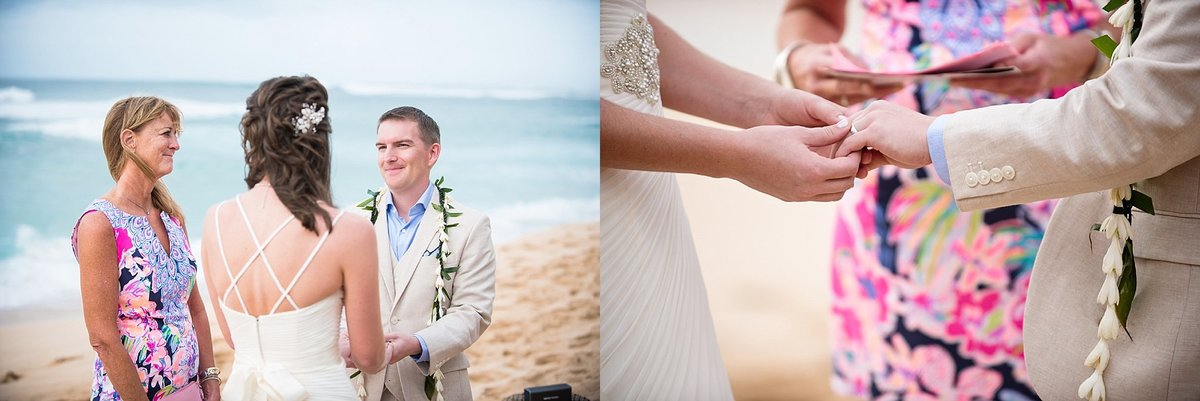 Sunset Beach Oahu Hawaii Wedding_98
