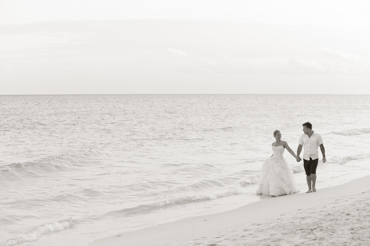 Playa+Del+Carmen+beach+ Wedding