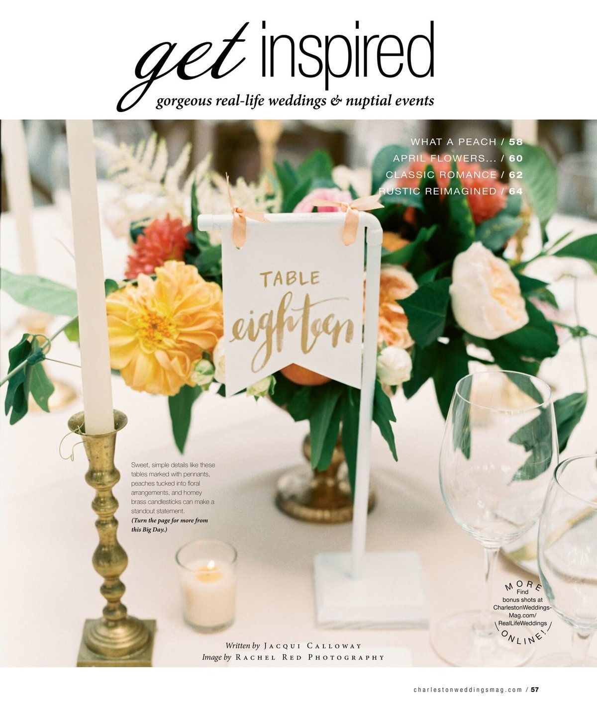 Charleston Weddings Magazine 2