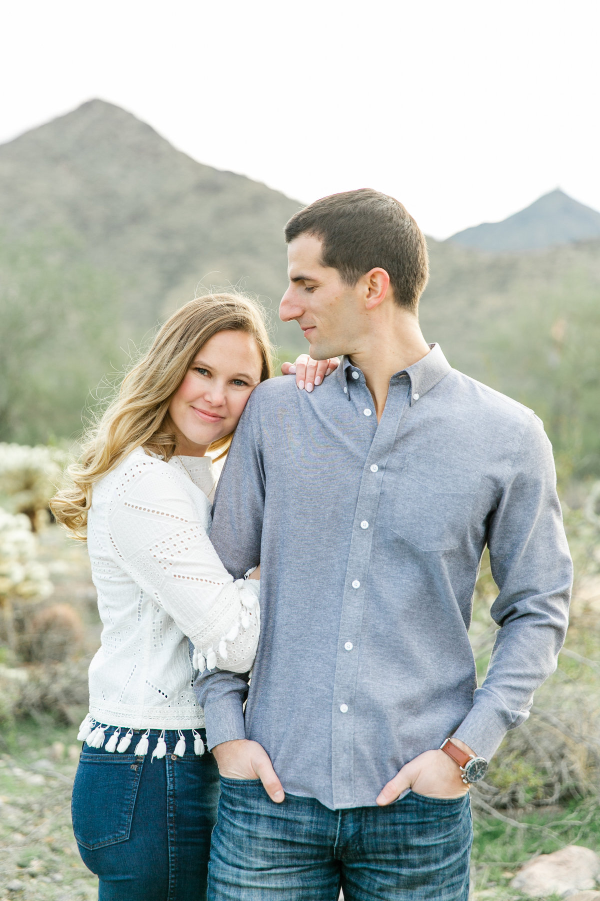Karlie Colleen Photography - Katherine & Mike Arizona Engagement session- Andaz Wedding-81