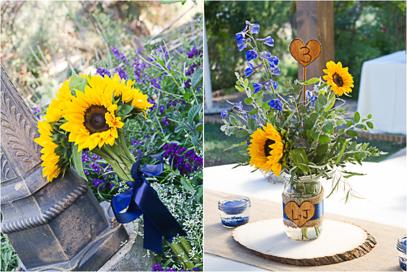 sunflowers-wedding-details