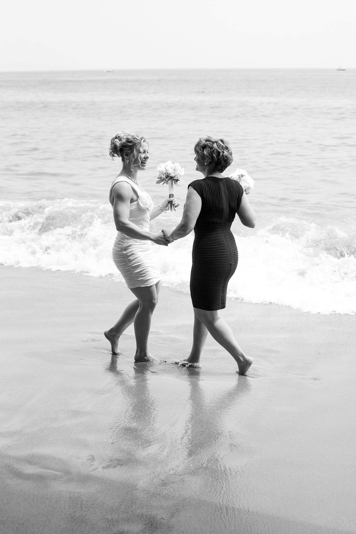 Salisbury Beach Massachusetts Wedding Photographers Brides water Image I am Sarah V Photography