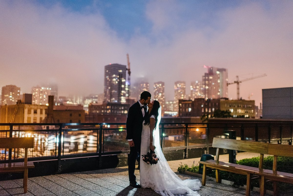 Ace Hotel Fall Colorful Chicago Wedding Florist Life in Bloom4