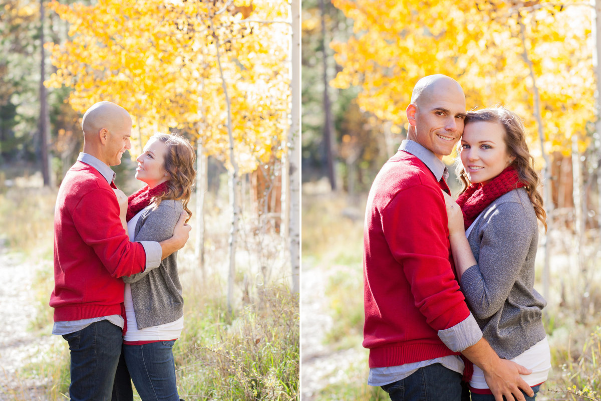 Fall portrait engagement photos outfit ideas | Susie Moreno Photography