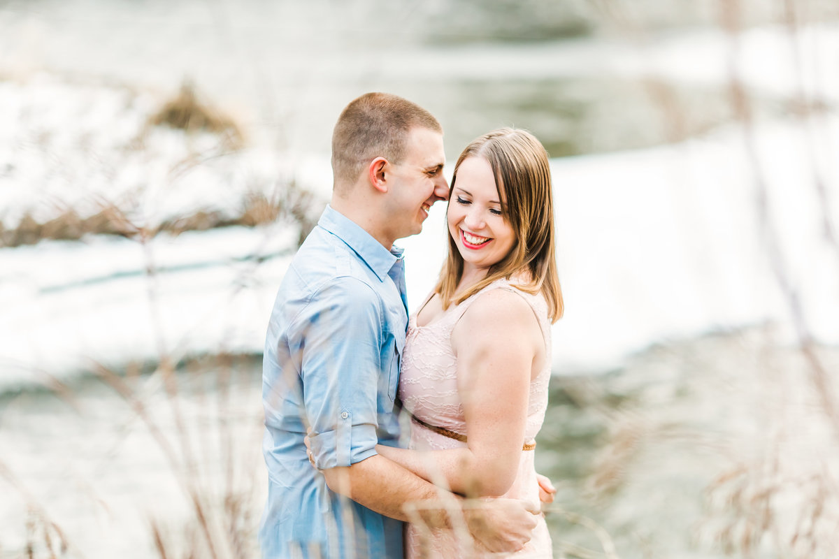 Naperville, IL River Walk Engagement Shoot