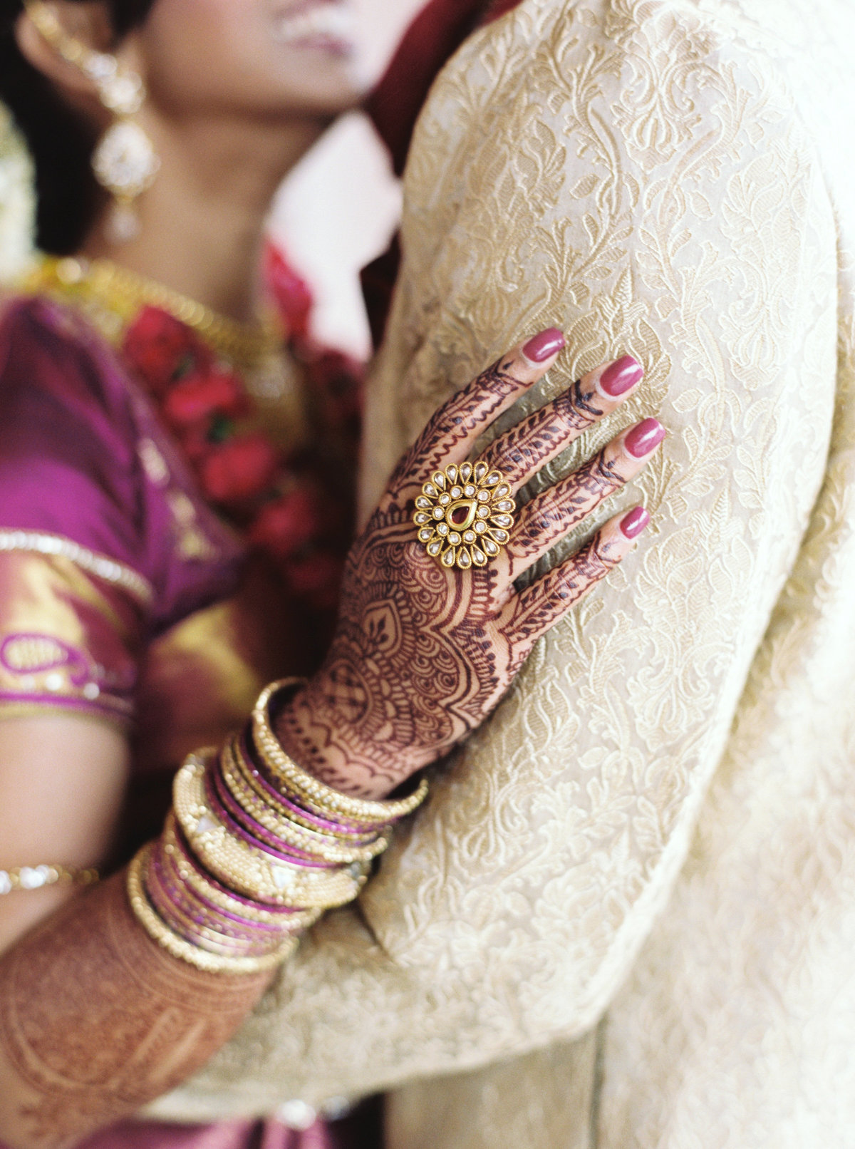 Kavya + Eric Couple Portraits BAPS Mandir Atlanta Wedding 089