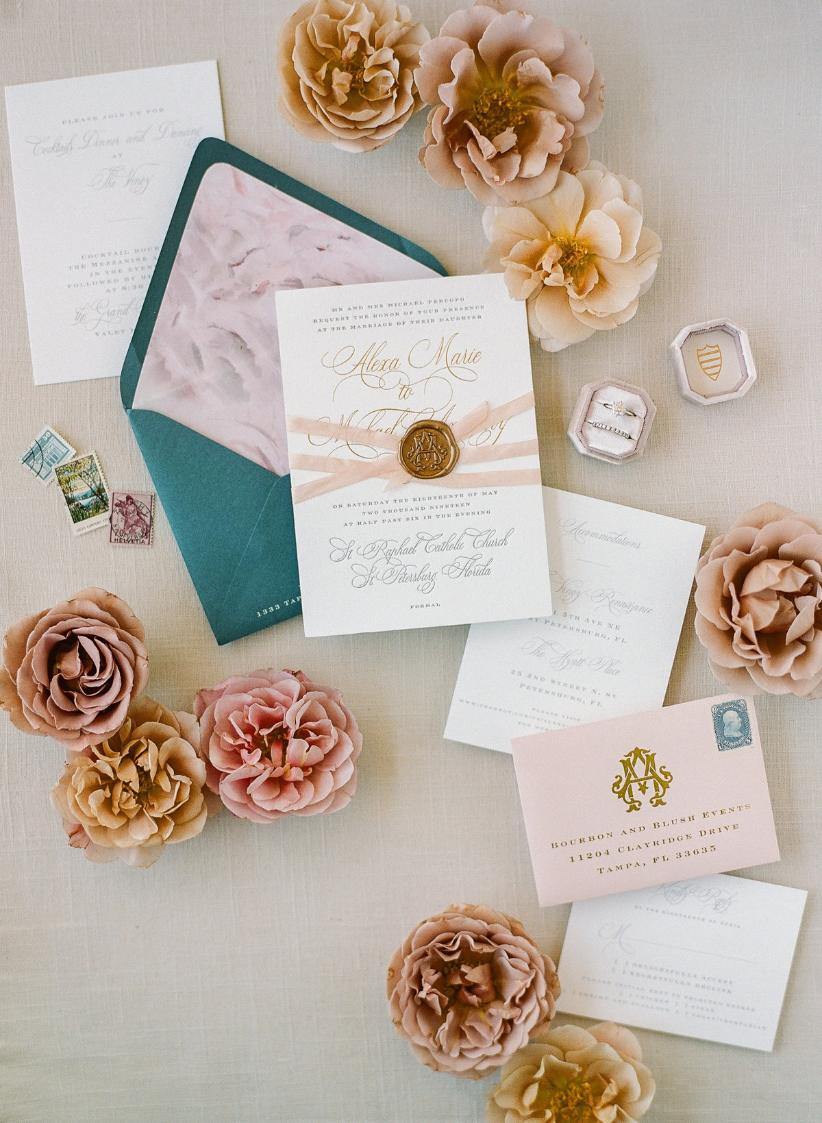 Fine Art Wedding Invitation-1