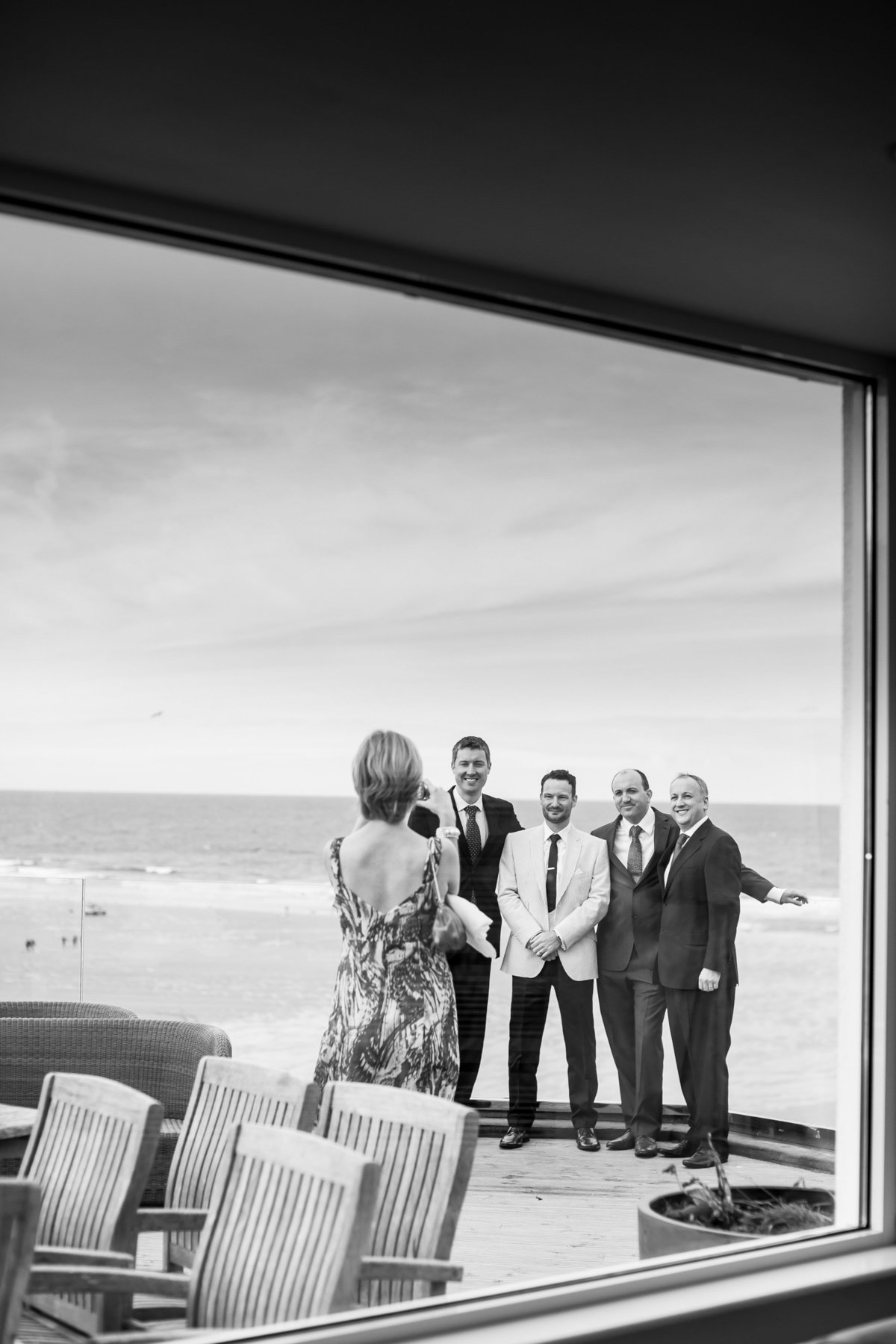 burgh island wedding