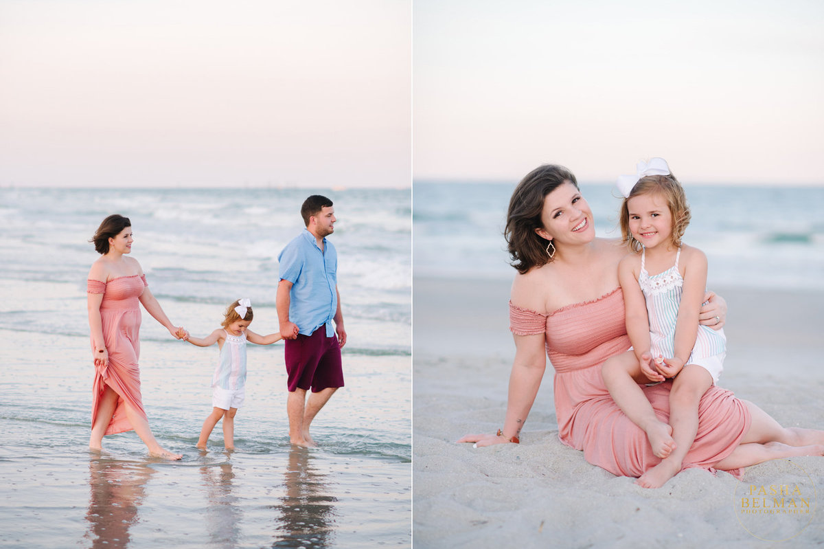 Murrells Inlet Family Photographer Pasha Belman - Family Beach Portraits in Murrells Inlet, SC