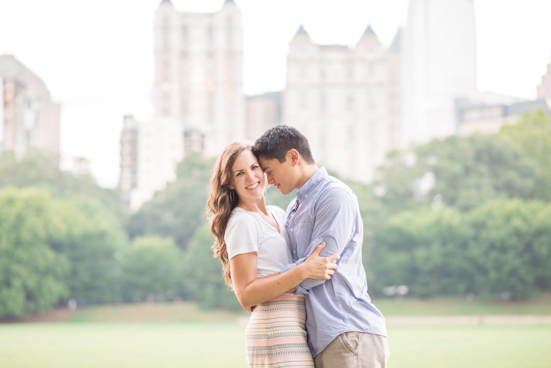 Atlanta Wedding Photographer Eliza Morrill engagement session at summerour studio, ponce city market, and piedmont park-37