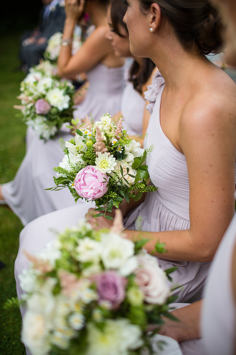 Bridesmaids mixed flowers option