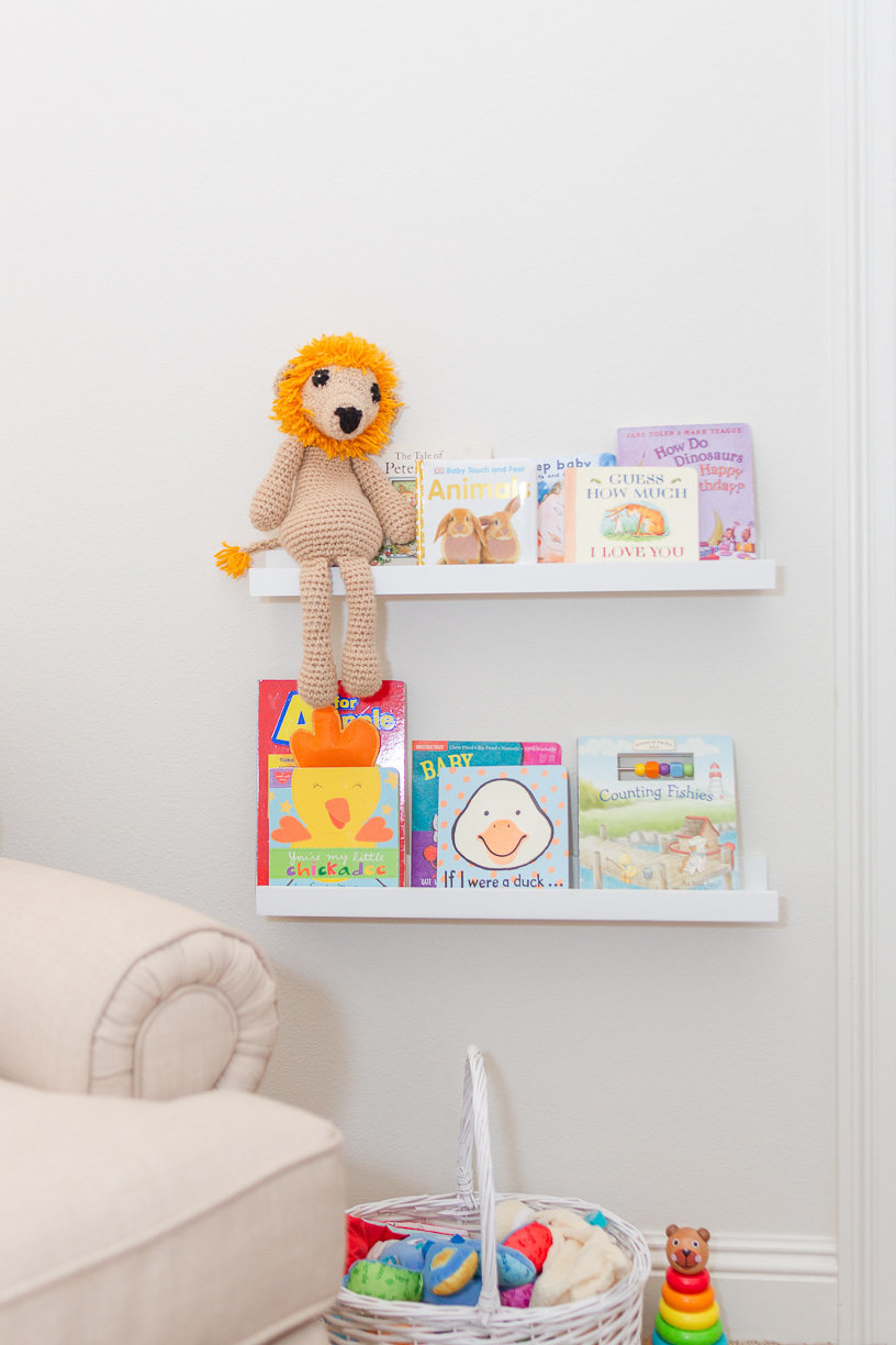 Lifestyle session in nursery | Toni Goodie Photography
