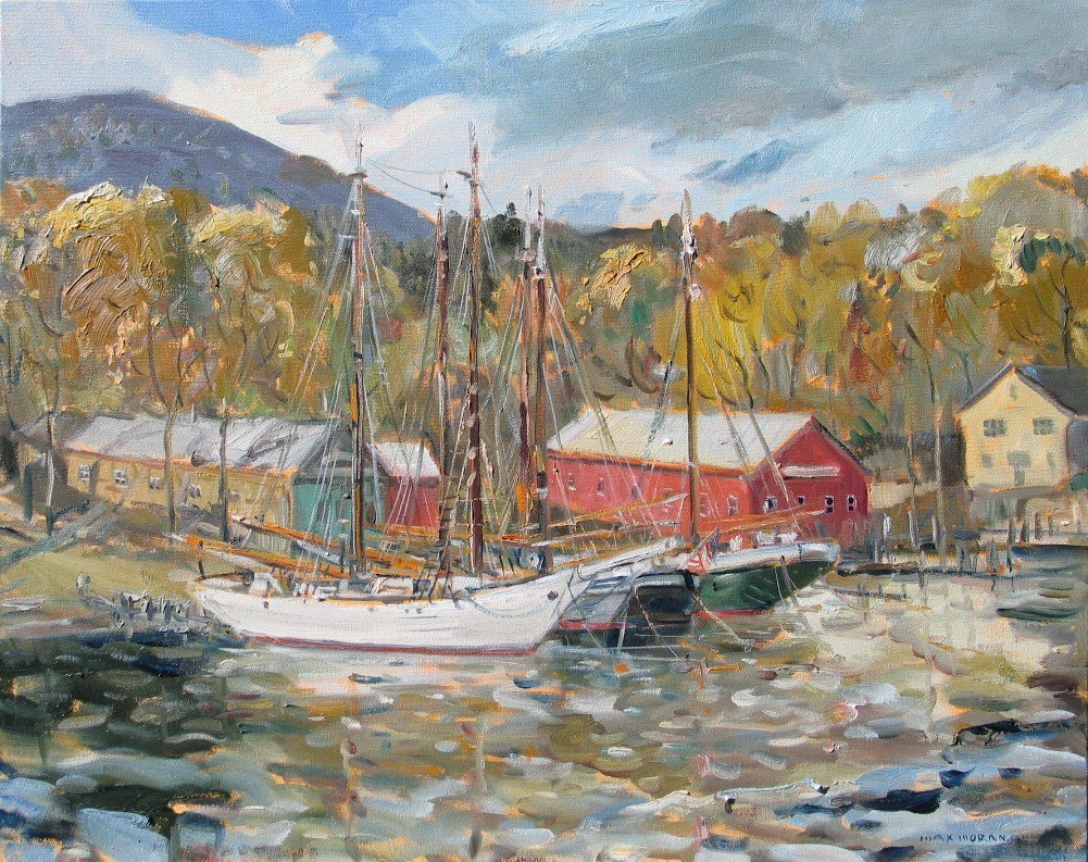 camden_harbor_and_mount_battie