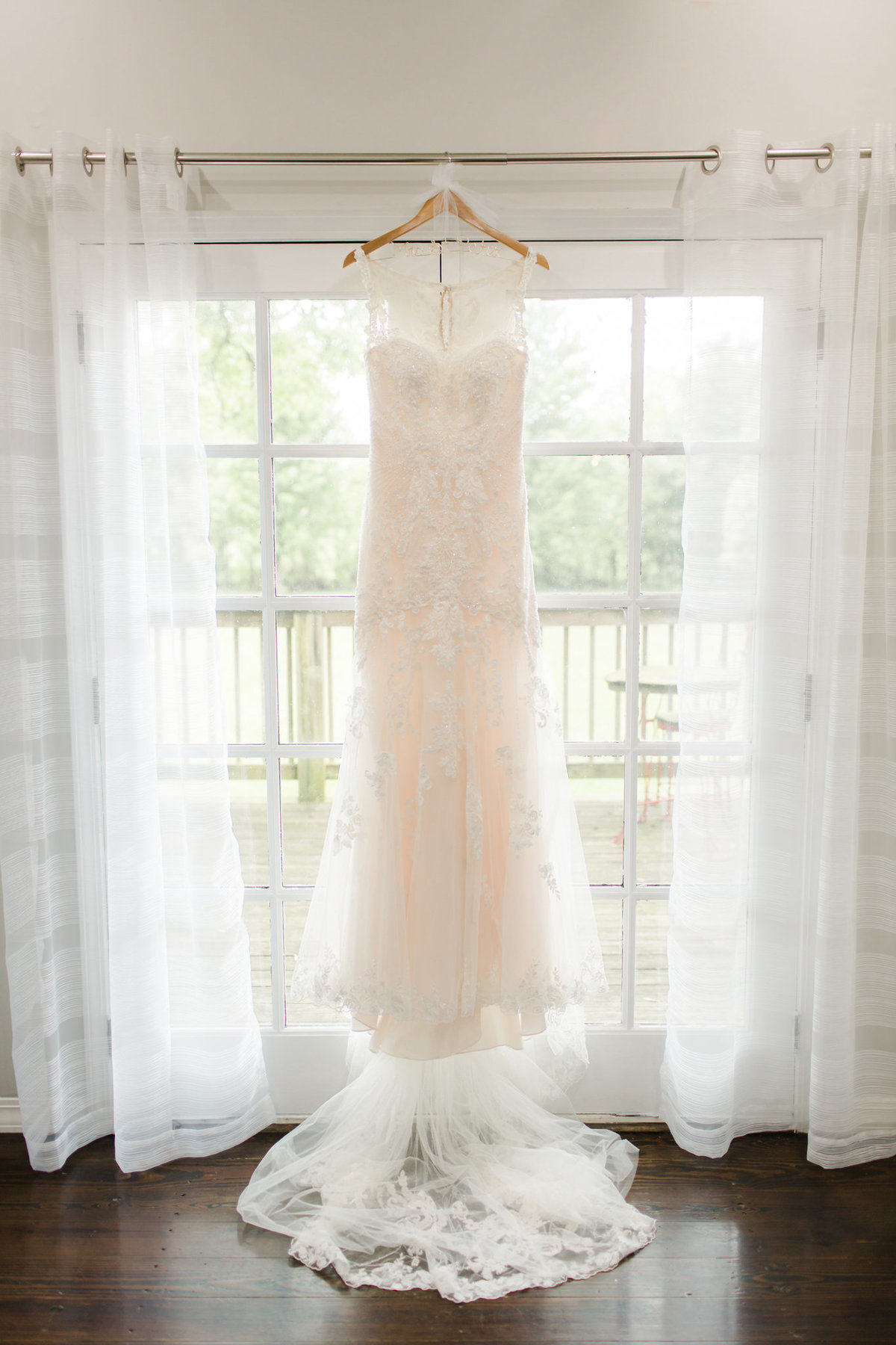 Wedding Dress at Haseltine Estate
