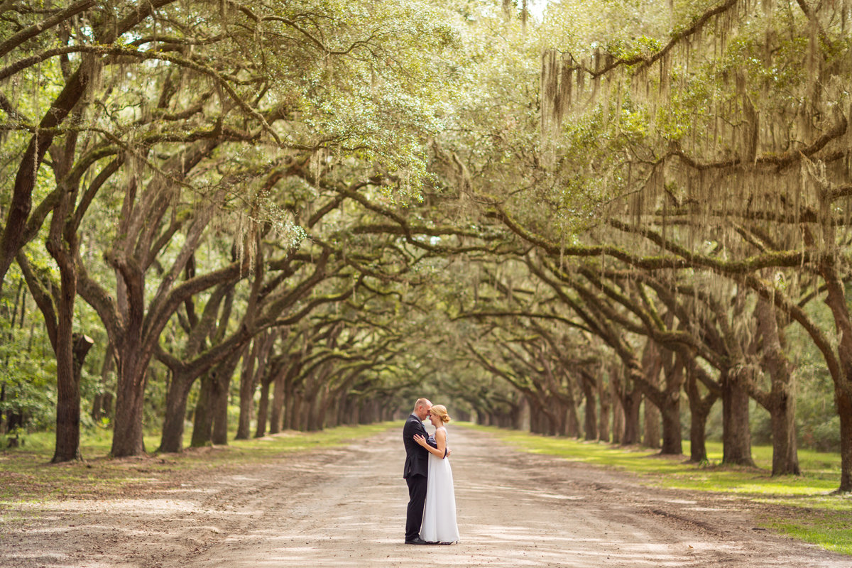 Wormsloe State Historic Site Wedding