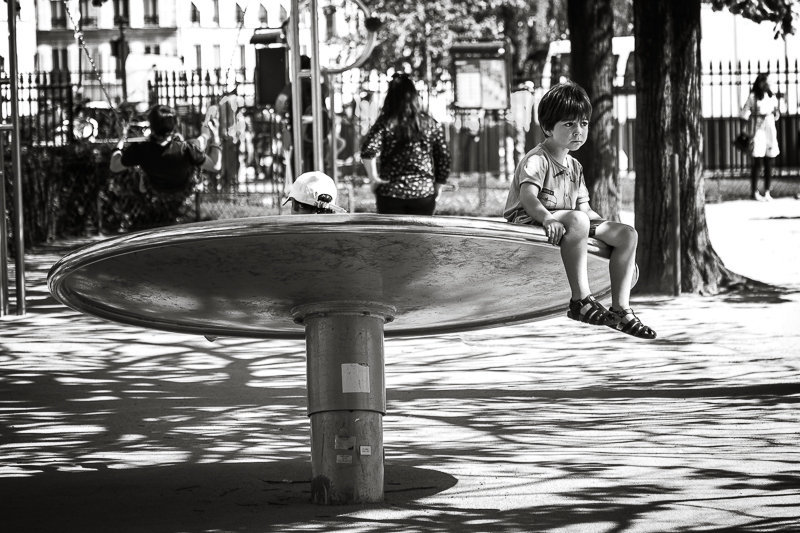 Streets of Paris BW 49
