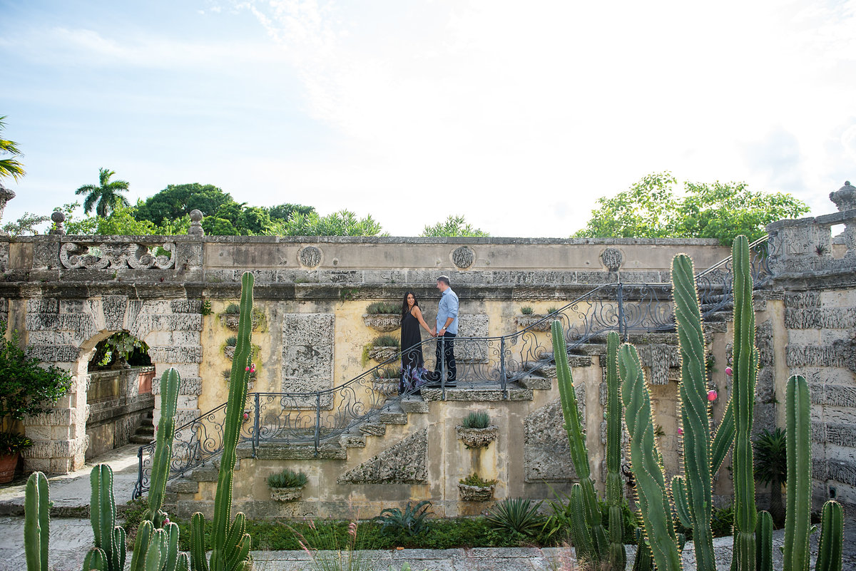 Vizcaya museum and gardens engagement
