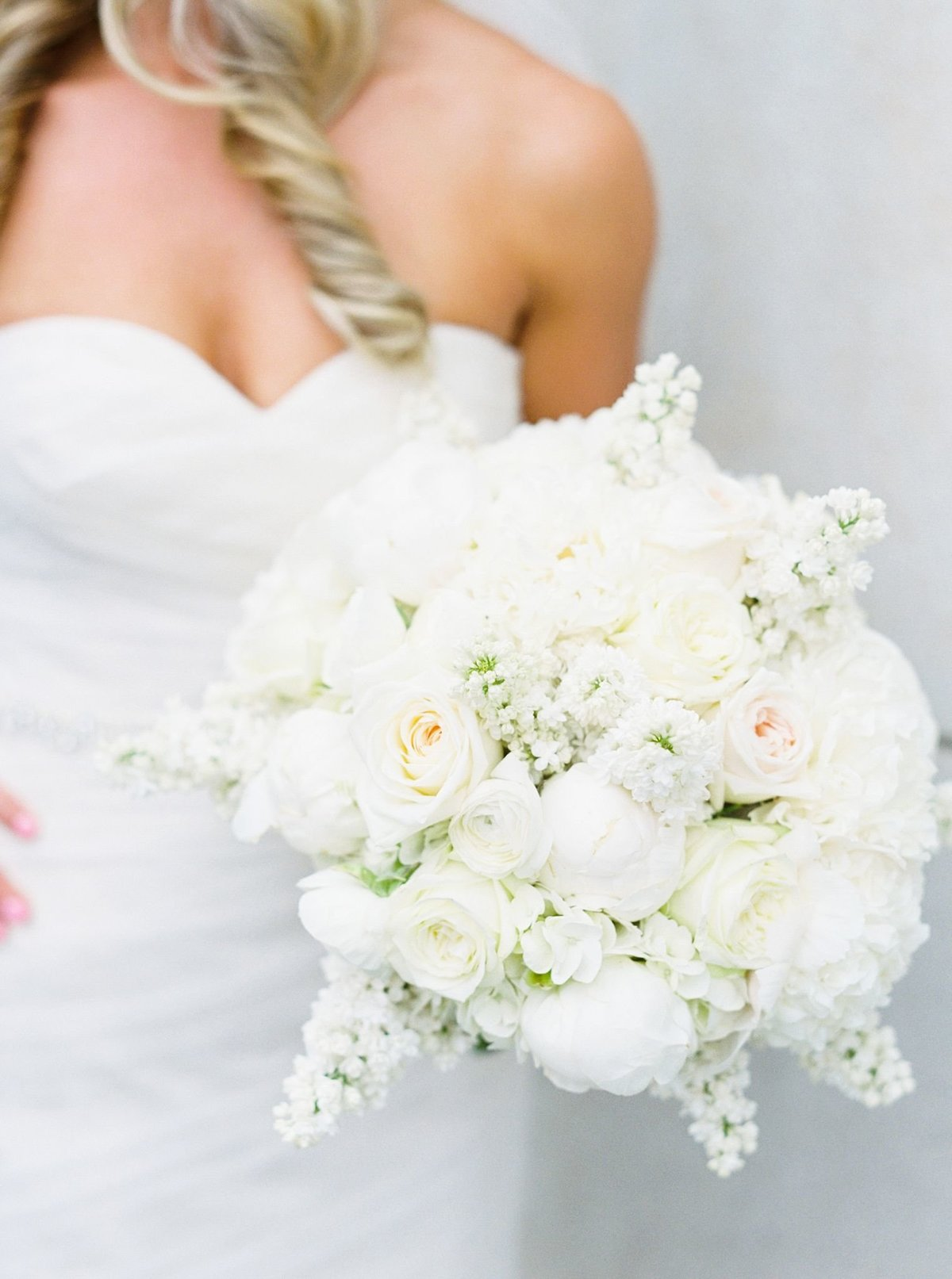 Beautiful Bridal Bouquet, Fine art film
