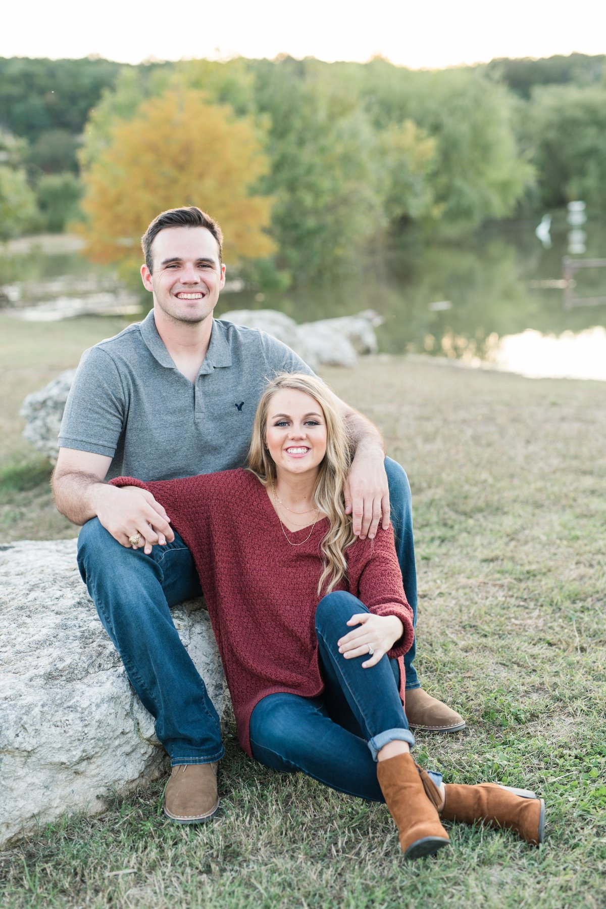 Waco Texas engagement session