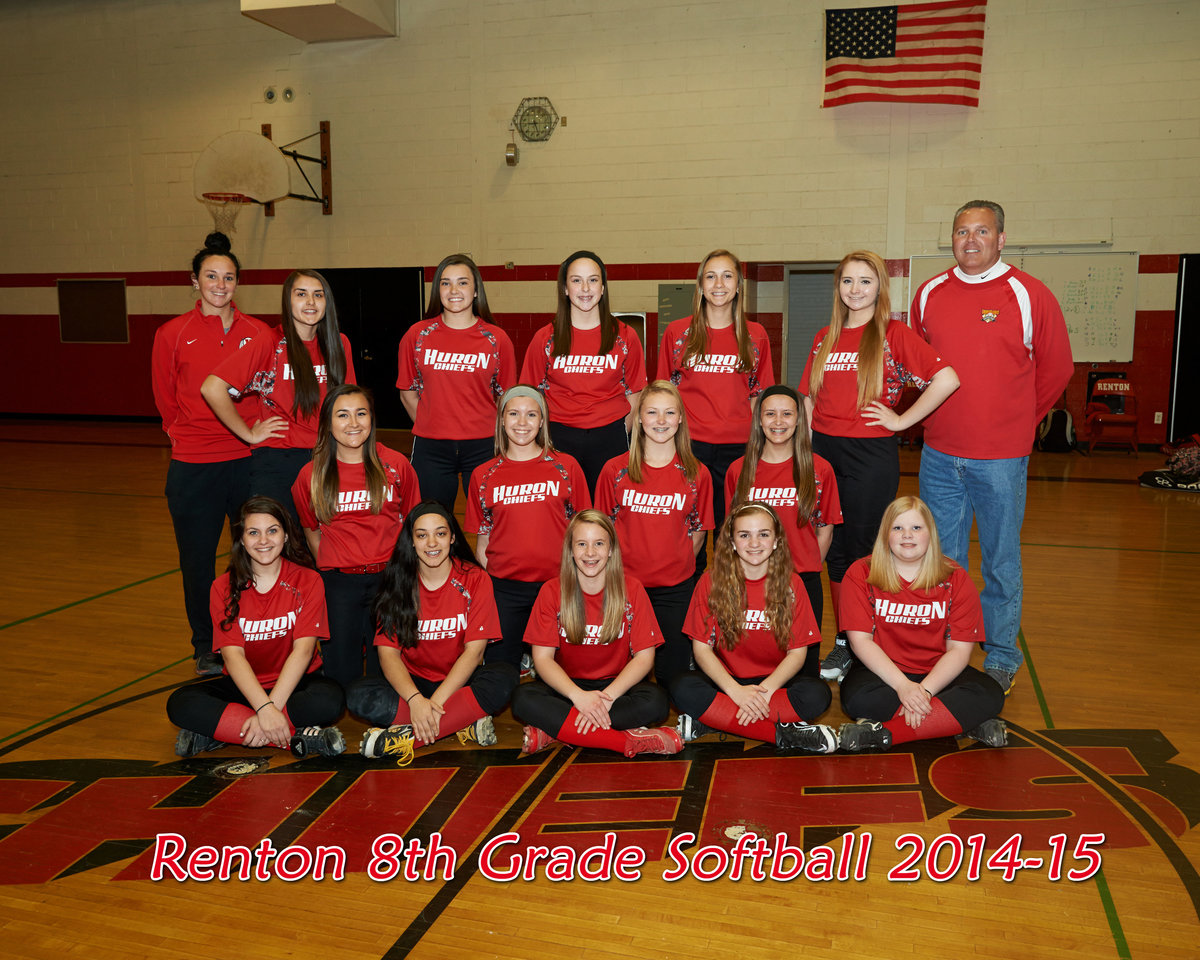 8th grade huron team mat