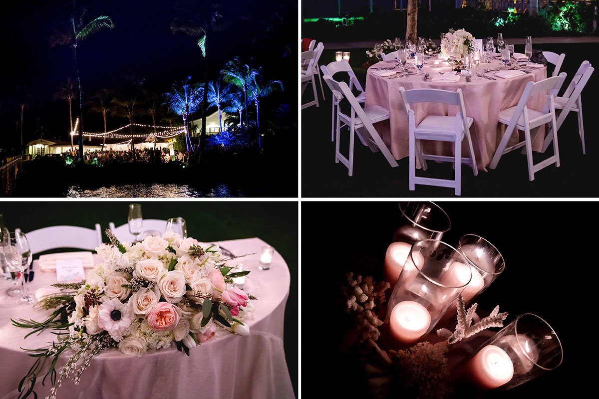 south seas captiva wedding outdoor reception