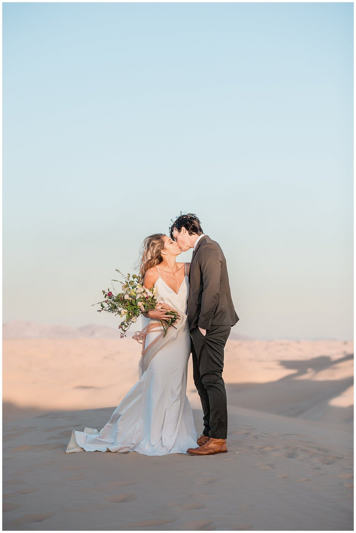 Glamis Desert Bohemian Wedding Styled elopement southern california sand dunes photo030