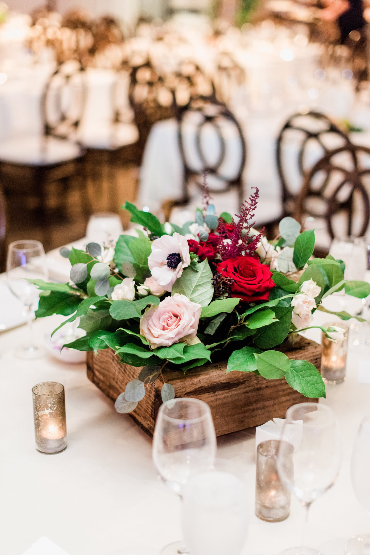 fall wedding centerpiece inspiration photo