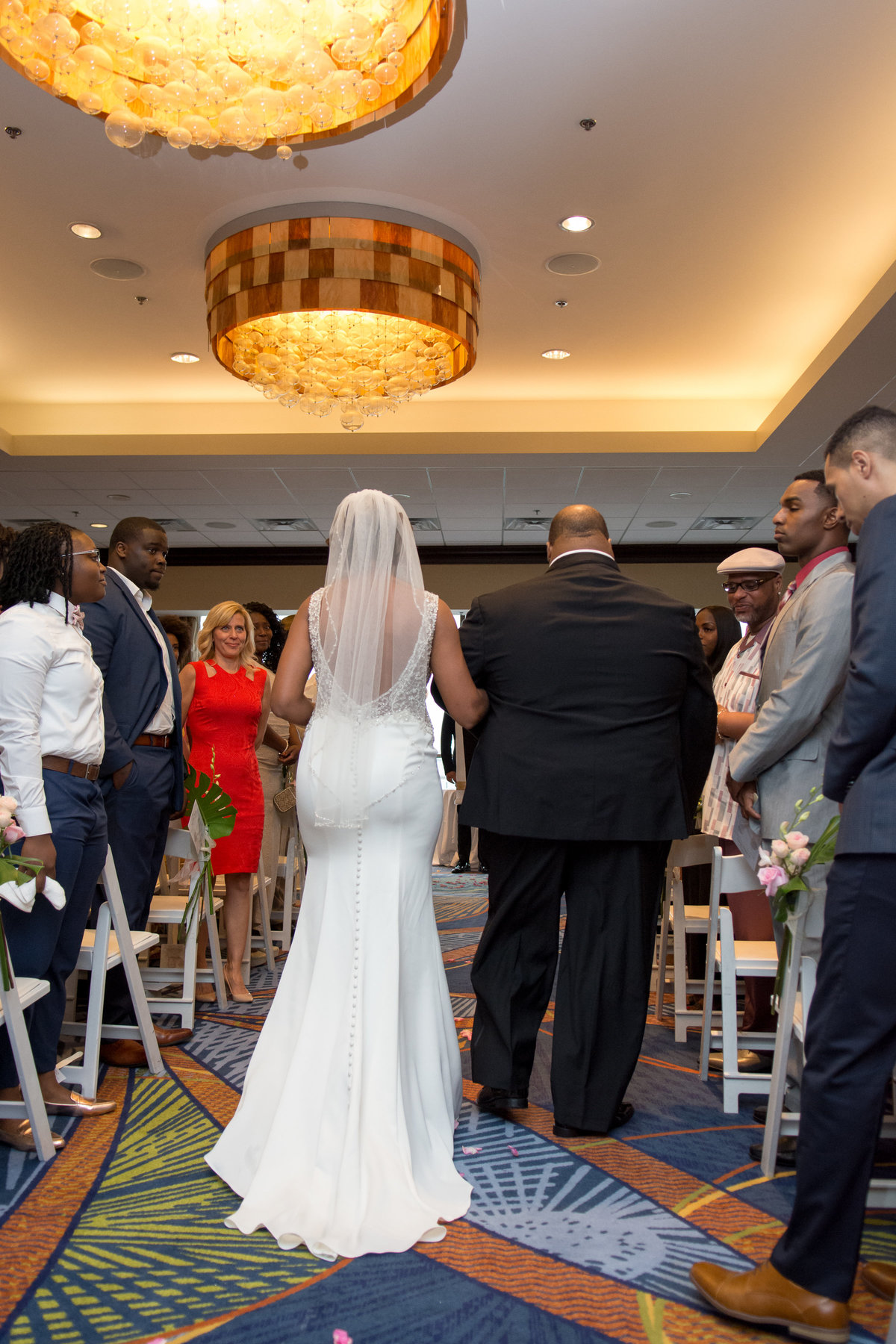 NFL Miami Dolphins Brandon Radcliff ShaKyra Radcliff Briza on the Bay Wedding Andrea Arostegui Photography-108