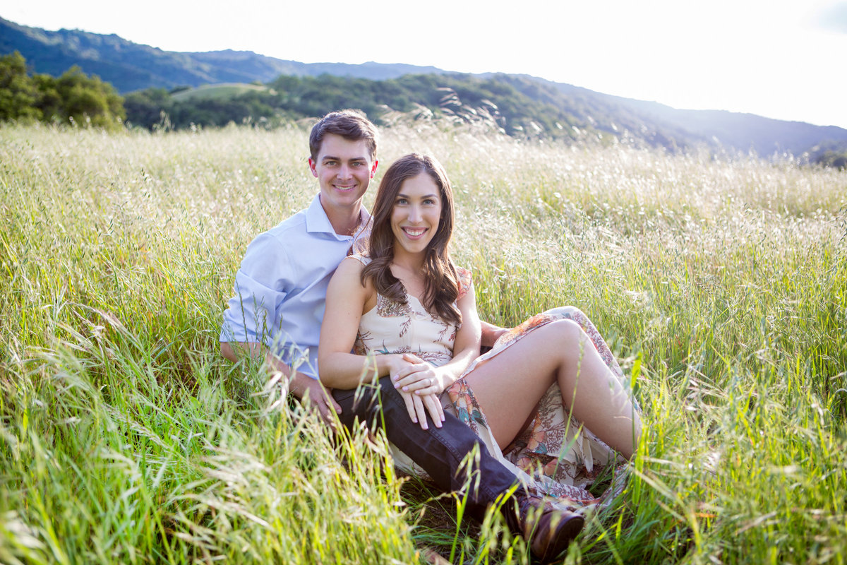engagement session portraits couple bay area