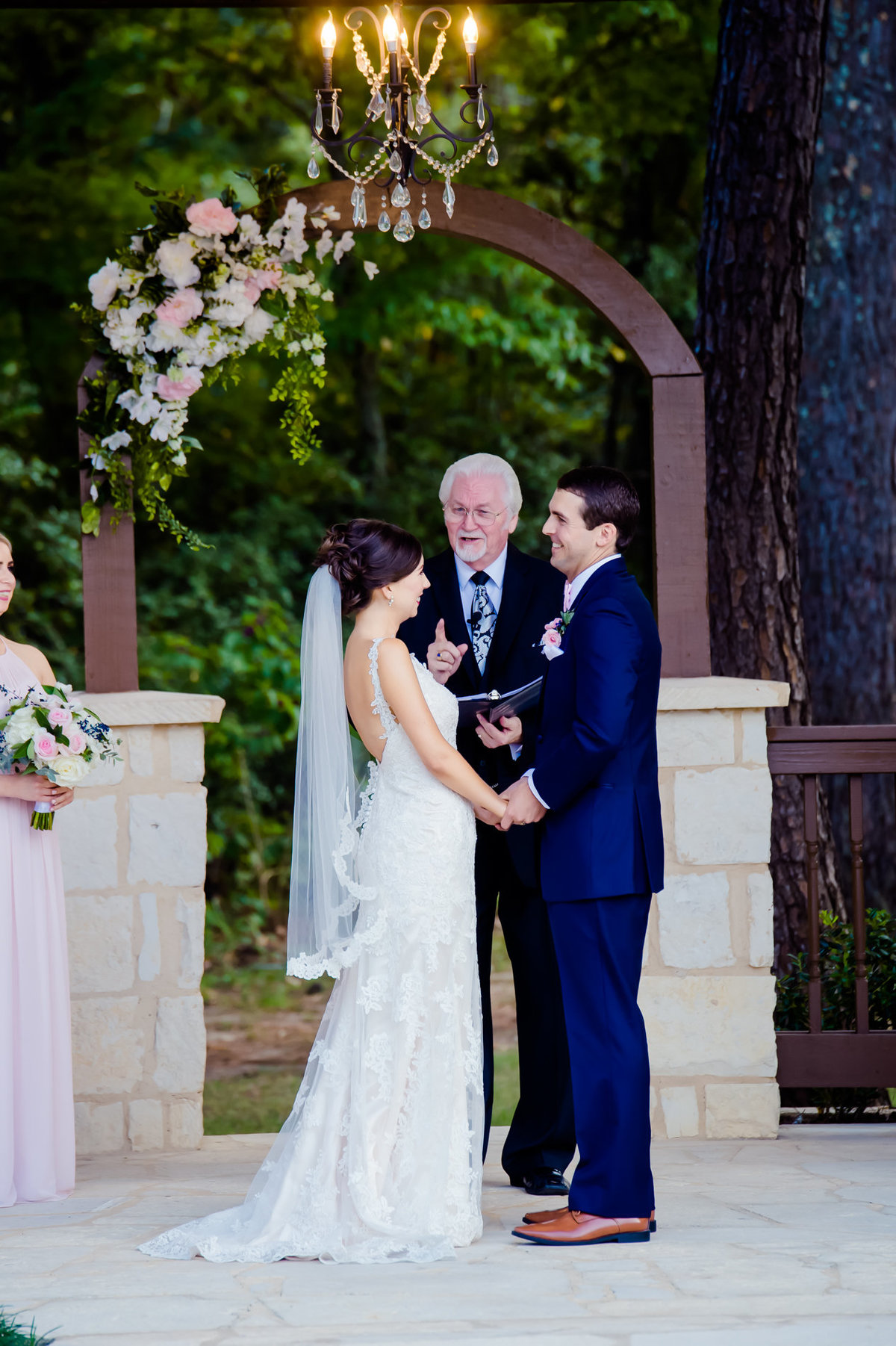 Springs Rockwall wedding ceremony photos