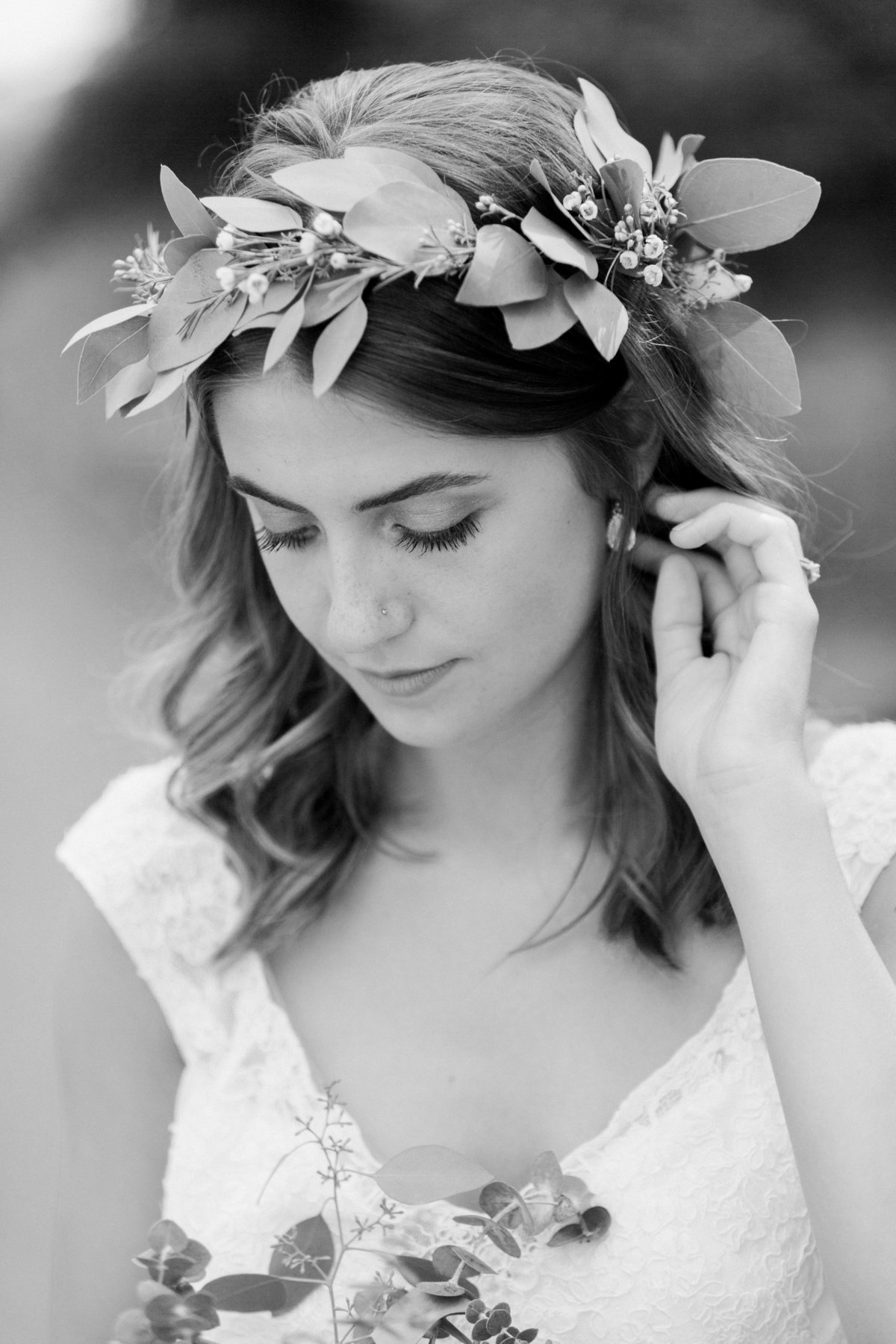 Charley Creek Gardens Wedding Bridal Portrait Photo