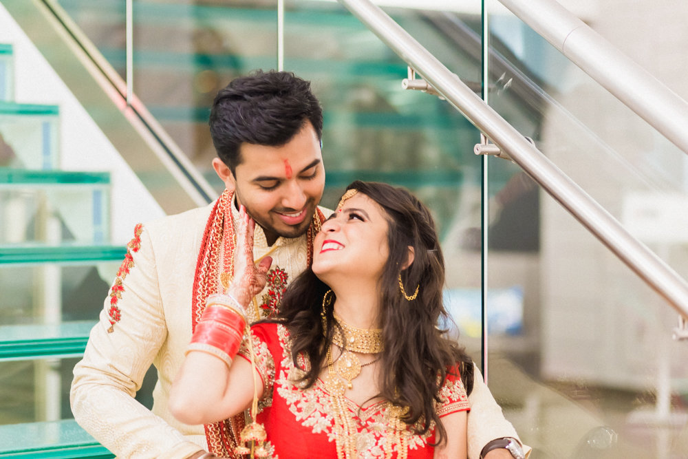 indian couple engagement