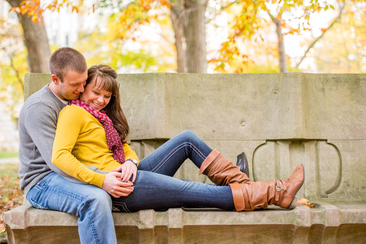 Bloomington engagement session