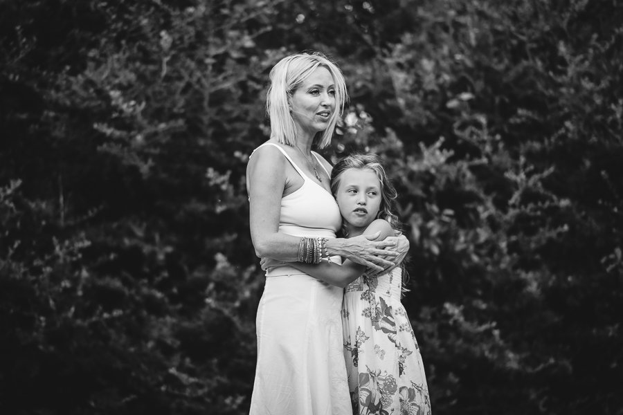 mom and daugher candid portrait photography bend oregon