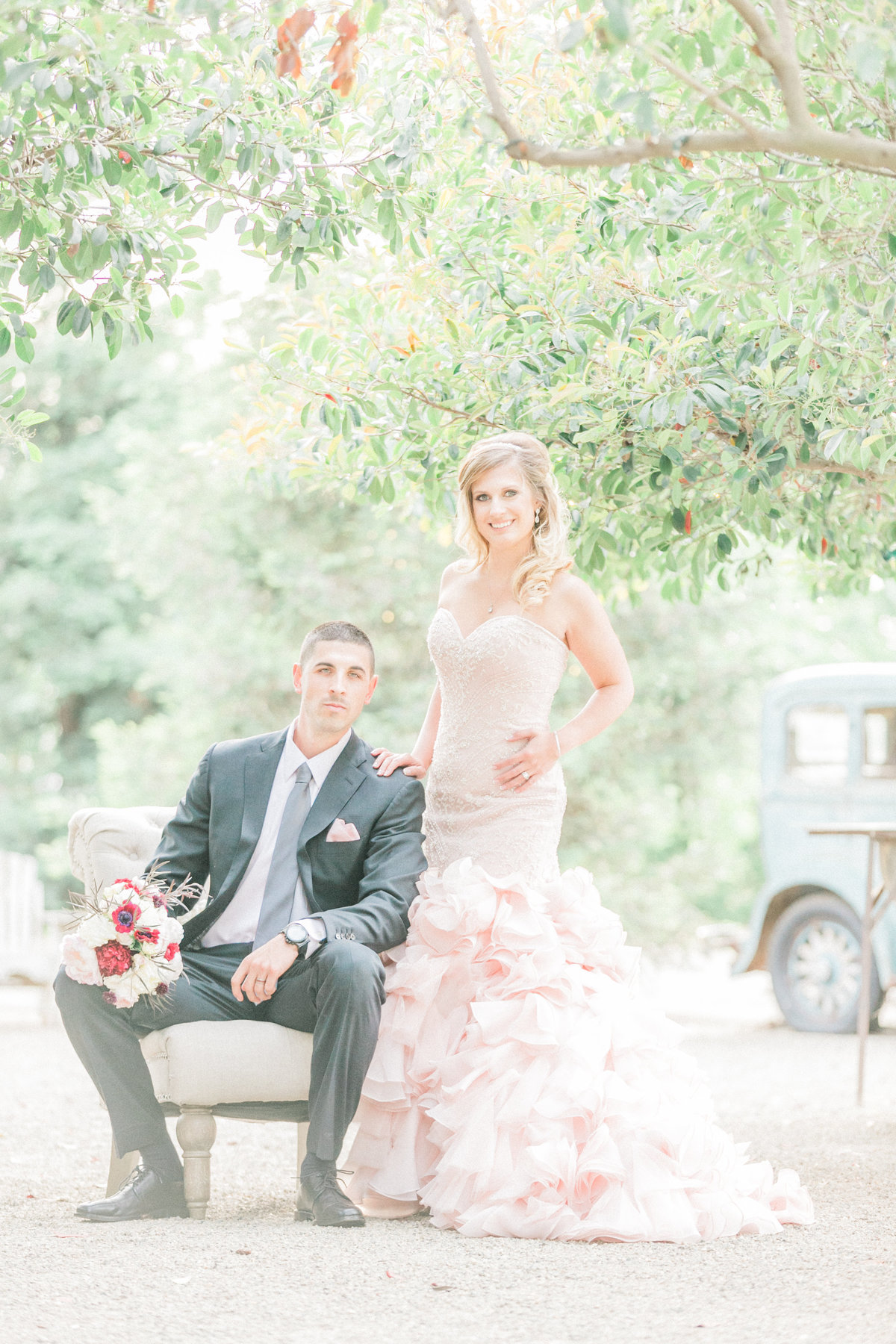 Provence Inspired Wedding