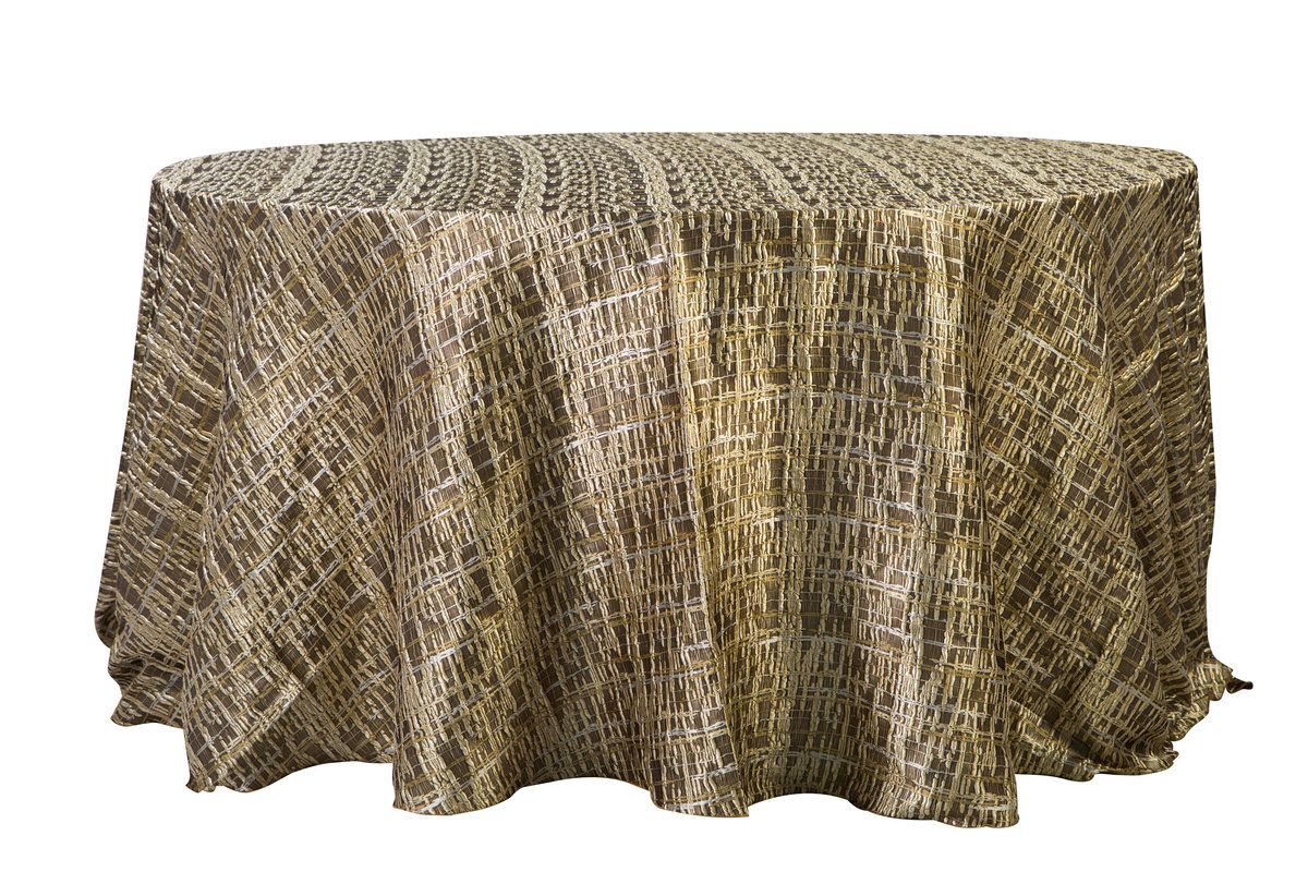 132'' Rd Lexi Square Tablecloth