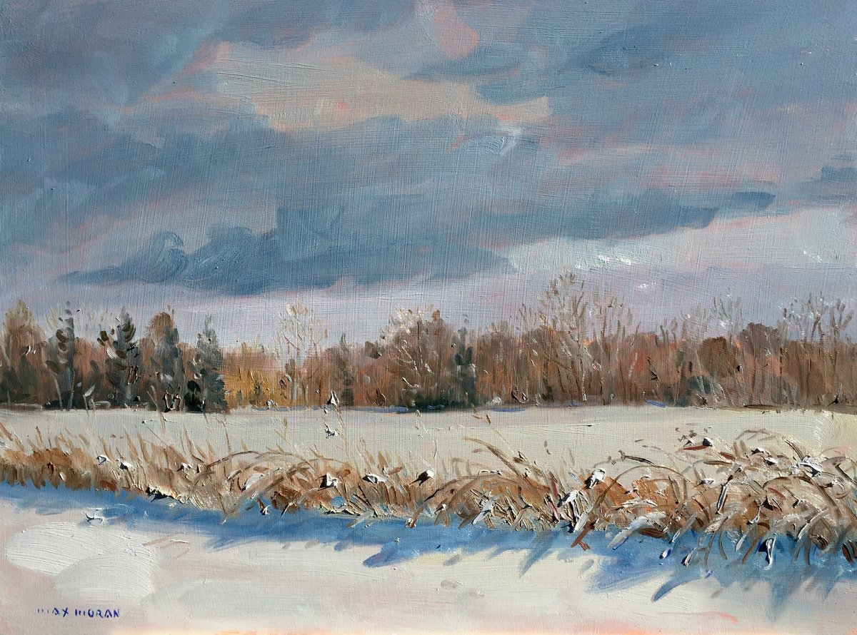 April Snow Jamesport  18X24 oop 3,200